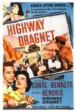 Highway Dragnet (1954) afişi