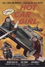 Hot Car Girl (1958) afişi