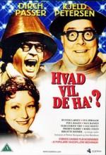 Hvad Vil De Ha'? (1956) afişi