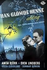 Han glömde henne aldrig (1952) afişi