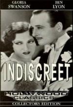 Indiscreet (1931) afişi