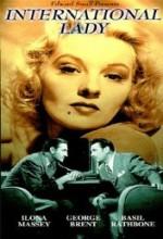 İnternational Lady (1941) afişi