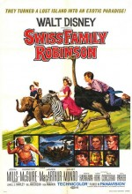 İsviçreli Robinson Ailesi (1960) afişi