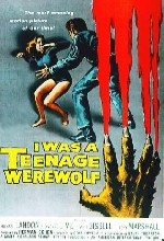 ı Was A Teenage Werewolf (1957) afişi