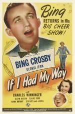 If I Had My Way (1940) afişi