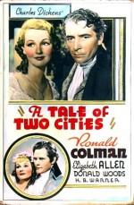 İki Şehrin Hikayesi (1935) afişi