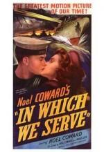 In Which We Serve (1942) afişi