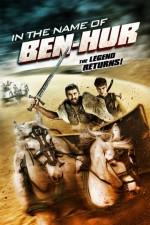 In the Name of Ben Hur (2016) afişi