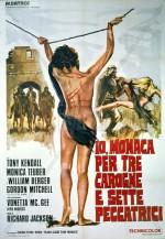 Io monaca... per tre carogne e sette peccatrici (1972) afişi