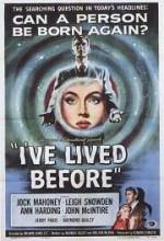 ı've Lived Before (1956) afişi