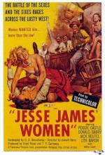 Jesse James' Women (1954) afişi