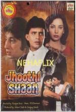 Jhoothi Shaan (1991) afişi