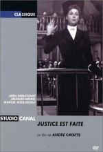 Justice Est Faite (1950) afişi