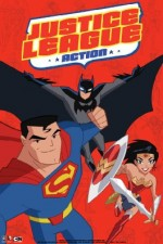 Justice League Action (2016) afişi