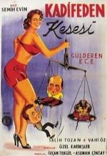 Kadifeden Kesesi (1956) afişi