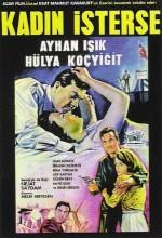 Kadın isterse. (1965) afişi
