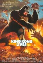 King Kong Yaşıyor (1986) afişi