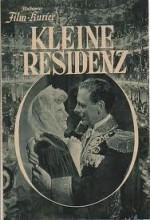 Kleine Residenz (1942) afişi