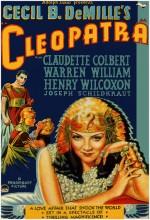 Kleopatra (1934) afişi
