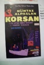 Korsan (1957) afişi