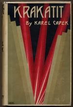 Krakatit (1949) afişi