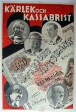 Kärlek Och Kassabrist (1932) afişi
