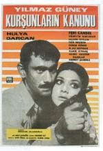 Kurşunların Kanunu (1969) afişi