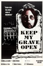 Keep My Grave Open (1976) afişi