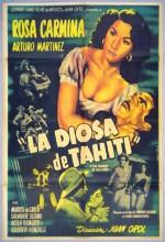 La Diosa De Tahití (1953) afişi