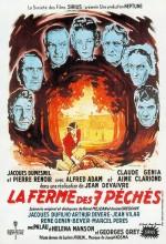 La Ferme Des Sept Péchés (1949) afişi