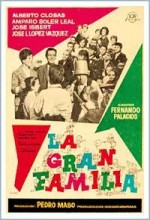 The Big Family (1962) afişi