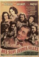 La Maison Des Sept Jeunes Filles (1942) afişi