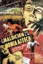 La Maldición De La Momia Azteca (1957) afişi