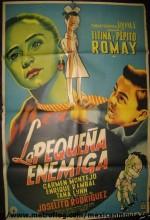 La Pequeña Enemiga (1956) afişi