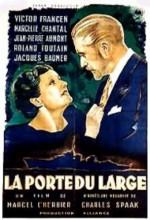 La Porte Du Large (1936) afişi
