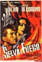 La Selva De Fuego (1945) afişi