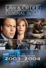 Law & Order: Criminal Intent (2001) afişi