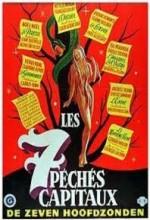 Les Sept Péchés Capitaux (1952) afişi