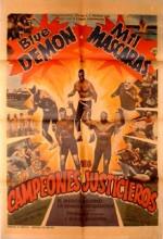 Los Campeones Justicieros (1971) afişi