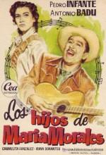 Los Hijos De María Morales (1952) afişi