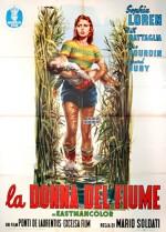 La donna del fiume (1954) afişi