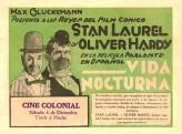 La Vida Nocturna (1930) afişi