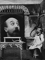 Lastik Başlı Adam (1901) afişi