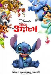 Lilo ve Stitch (2002) afişi