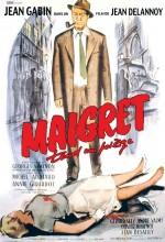 Maigret Tend Un Piège (1958) afişi