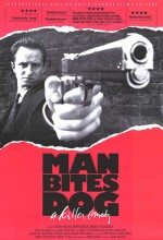 Man Bites Dog (1992) afişi
