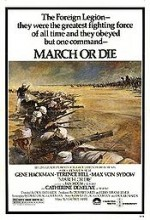 March Or Die (1977) afişi