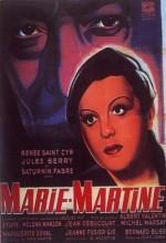 Marie-martine (1943) afişi