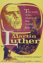 Martin Luther (1953) afişi