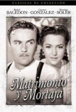 Matrimonio Y Mortaja (1950) afişi